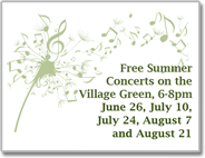 Concerts on the Village Green Pelham, NH